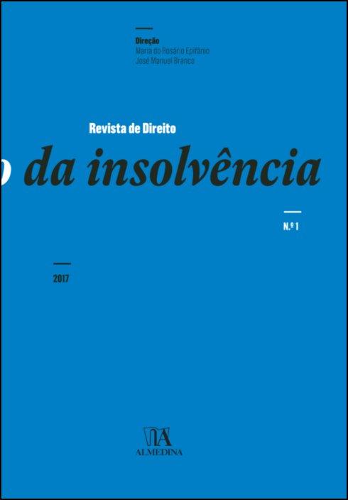 Revista de Direito da Insolvência n.º 1 (2017)