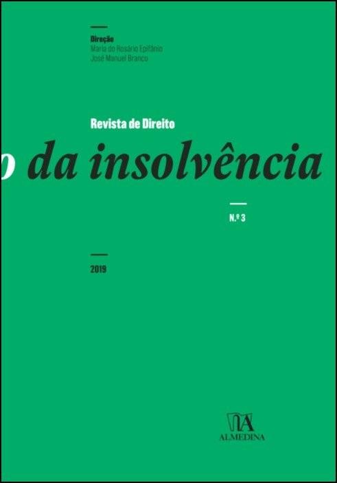Revista de Direito da Insolvência n.º 3 (2019)