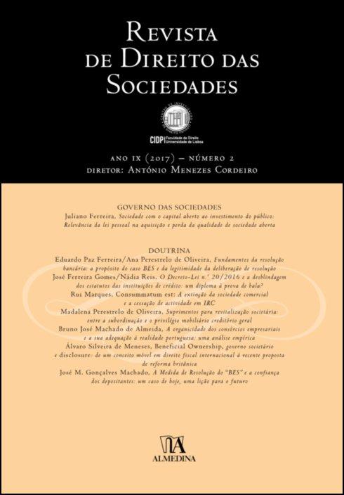 Revista de Direito das Sociedades, Ano IX (2017) - Número 2