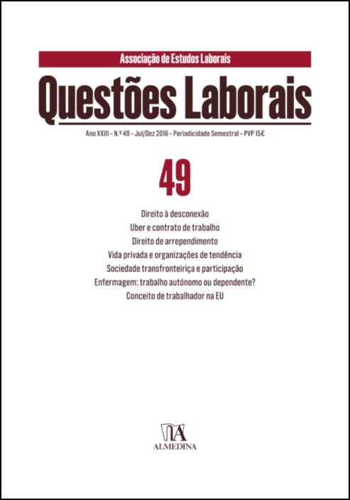Questões Laborais n.º 49