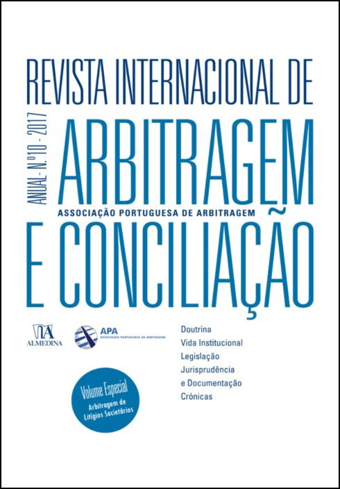 Revista Internacional de Arbitragem e Conciliação - Ano X - 2017