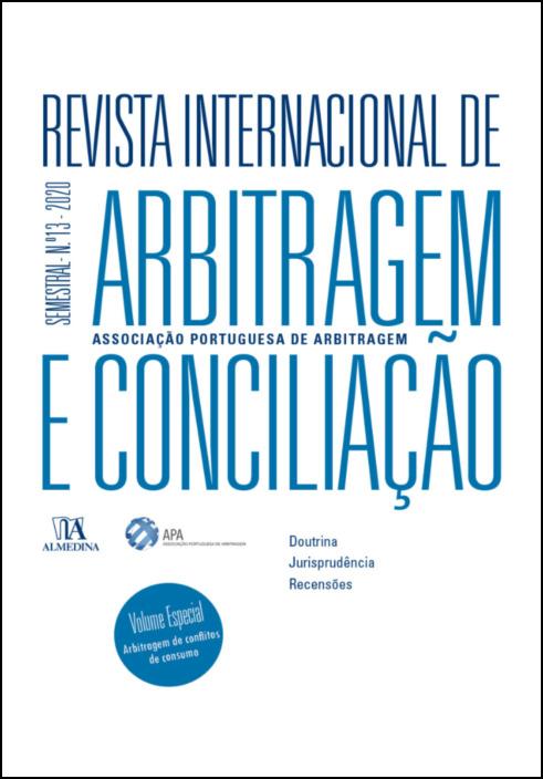 Revista Internacional de Arbitragem e Conciliação - Ano XIII - 2020