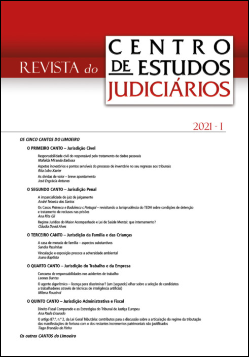 Revista do CEJ n.º 1 - 2021
