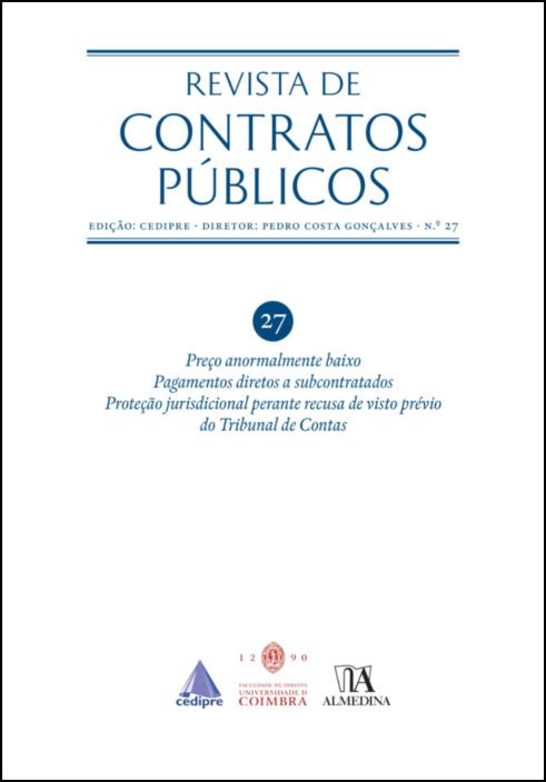 Revista de Contratos Públicos n.º 27