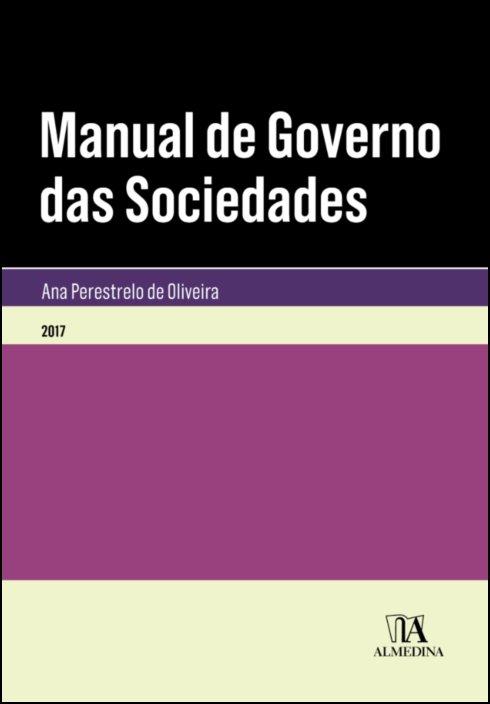 Manual de Governo das Sociedades