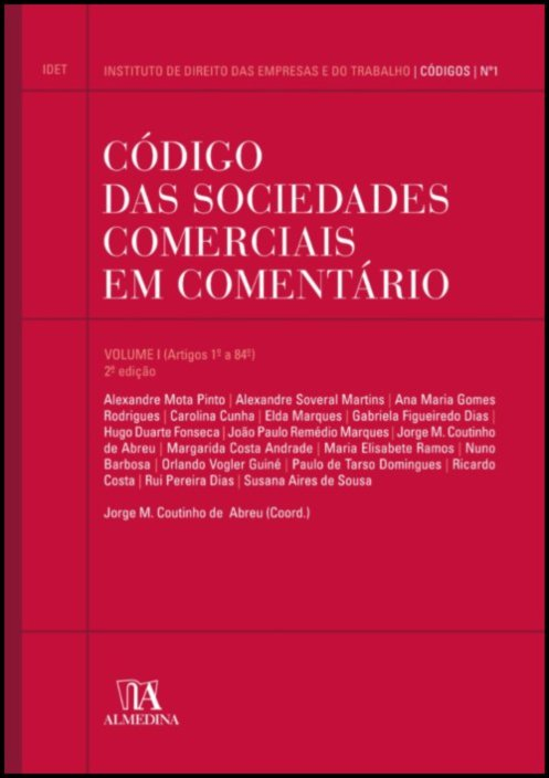 Código das Sociedades Comerciais em Comentário volume I
