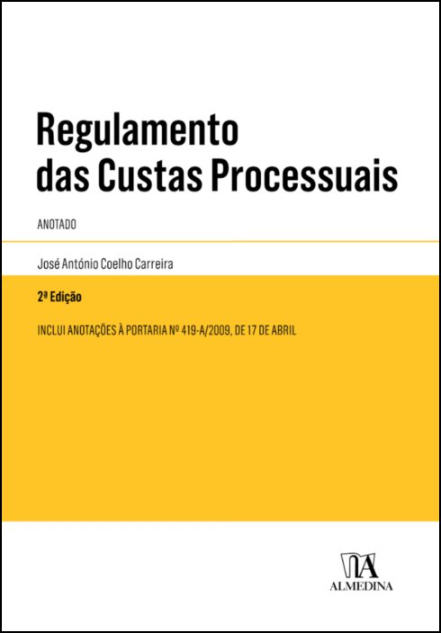 Regulamento das Custas Processuais