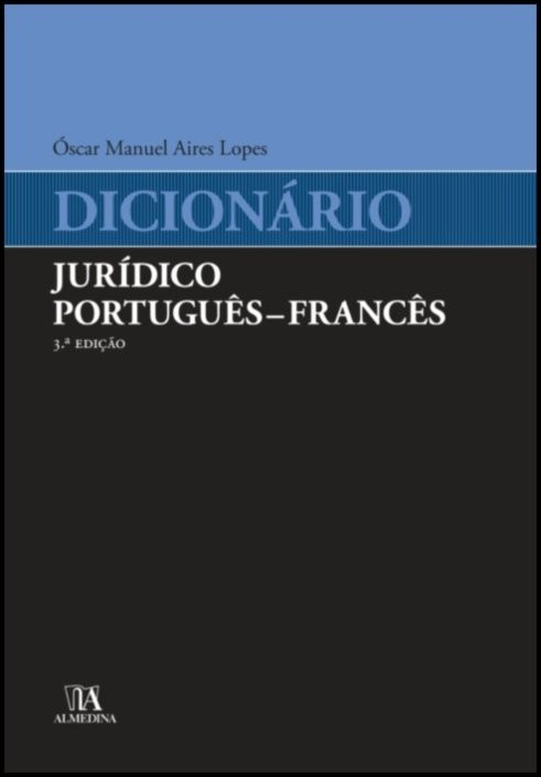 Dicionário Jurídico Português - Francês