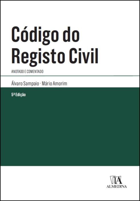 Código do Registo Civil - Anotado