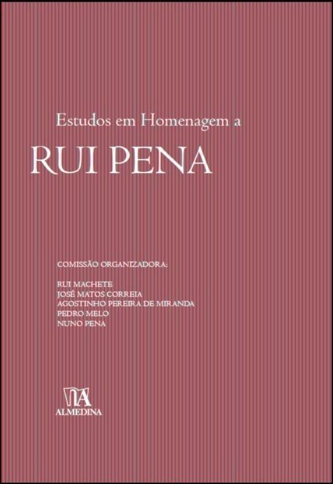 Estudos em Homenagem a Rui Pena
