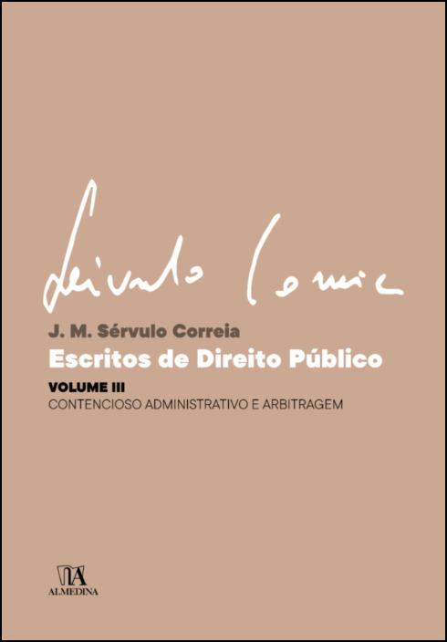 Escritos de Direito Público - Volume III