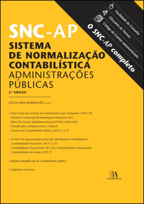 SNC-AP: Sistema de Normalização Contabilística para as Administrações Públicas