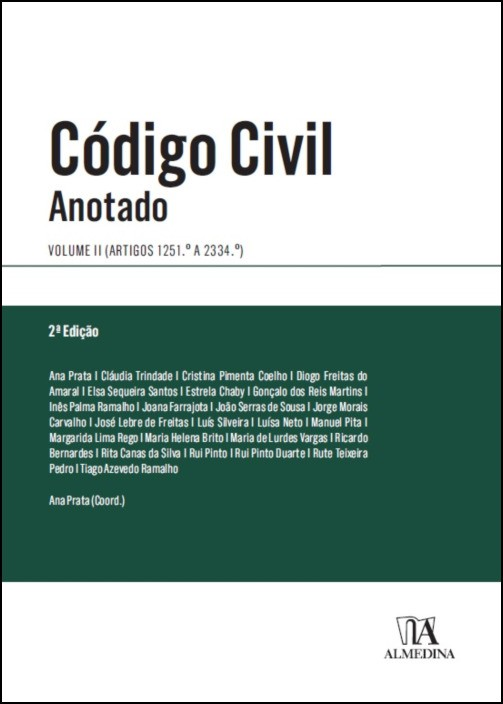 Código Civil Anotado - Volume II