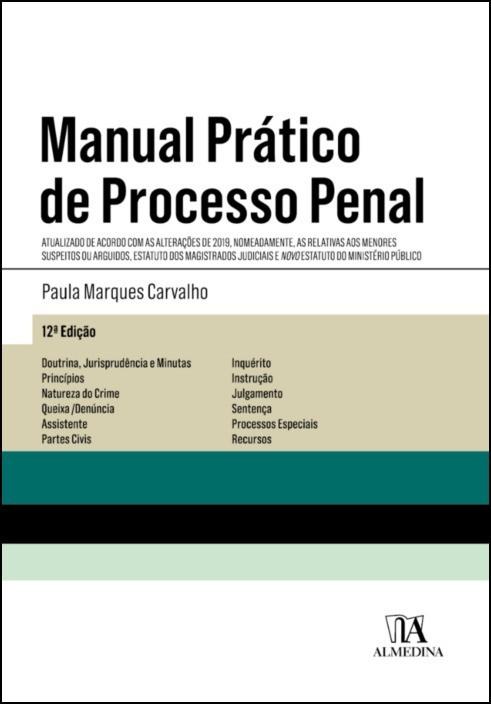 Manual Prático de Processo Penal