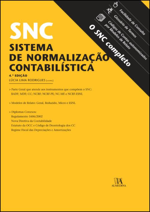 SNC - Sistema de Normalização Contabilística