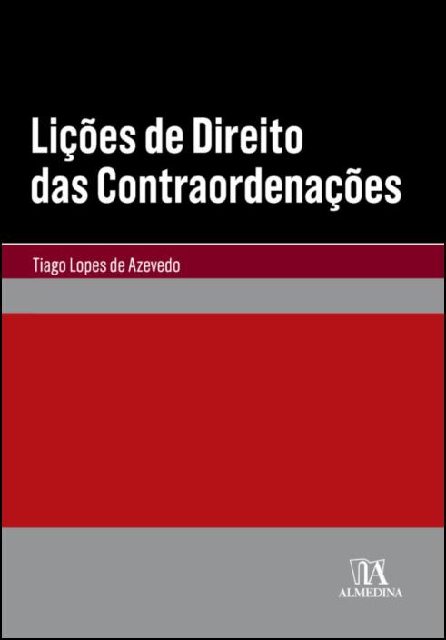 Lições de Direito das Contraordenações