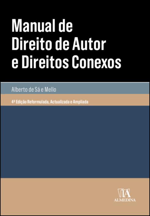 Manual de Direito de Autor e Direitos Conexos